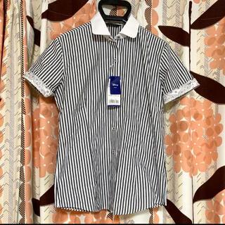 Disney - 東京シャツ ブルックシャツ 半袖 レディース 半袖シャツ ストライプ ディズニー