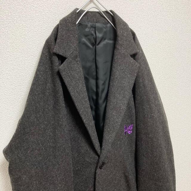 Needles(ニードルス)の【未使用】激レア ニードルス needles テーラードジャケット ロゴ付き メンズのジャケット/アウター(テーラードジャケット)の商品写真