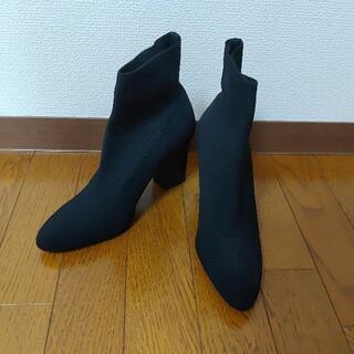 マンゴ(MANGO)の美品 MANGO マンゴ ソックスショートブーツ TOGA mame(ブーツ)