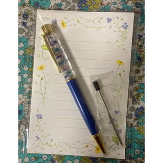 ハーバリウムのボールペン(ドライフラワー)