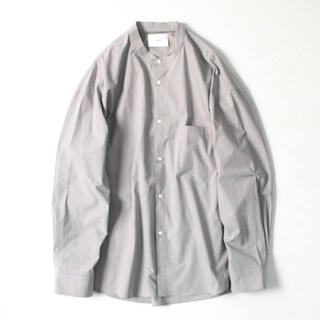 stein OVERSIZED BAND COLLOR SHIRT
