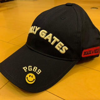 PEARLY GATES - ☆新品☆ パーリーゲイツ ゴルフ キャップ 濃紺 男女兼用