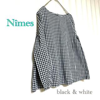 NIMES - 着用1回のみ Nîmes ニーム ギンガムチェック ブラウス