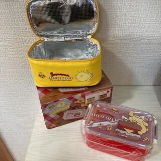 サンリオ(サンリオ)の★新品未使用品★ポムポムプリン ランチボックス 弁当箱(弁当用品)