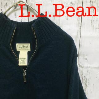 L.L.Bean - Bean エルエルビーン ジップアップニット ドライバーズニット