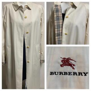 バーバリー(BURBERRY)のBurberry☆レディースステンカラーコート9AR(トレンチコート)