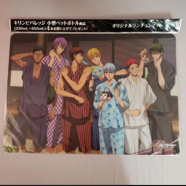 BANDAI NAMCO Entertainment(バンダイナムコエンターテインメント)の黒子のバスケランチョマット(3枚セット) エンタメ/ホビーのおもちゃ/ぬいぐるみ(キャラクターグッズ)の商品写真