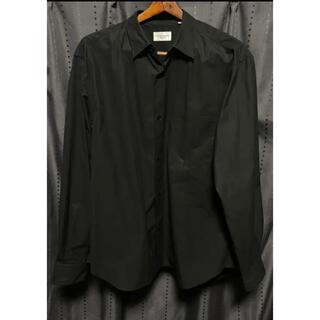 ユナイテッドアローズ(UNITED ARROWS)のユナイテッドアローズ フィンクスコットン ソリッド レギュラーカラーシャツ(シャツ)