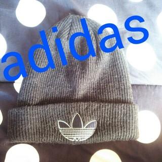 アディダス(adidas)のadidas*ニット帽(ハット)