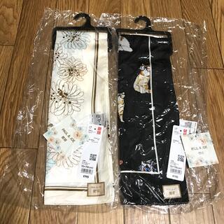 ポールアンドジョー(PAUL & JOE)の完売品 新品タグ付き UNIQLO ポール&ジョー スカーフ(バンダナ/スカーフ)