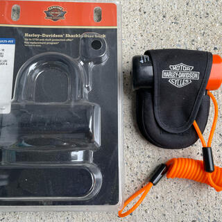 Harley Davidson - 美品 ハーレー・ダヴィットソン シャックルロックキット 定価12514円