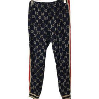 Gucci - GUCCI 18aw ggジャガードトラックパンツ