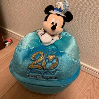 Disney - ディズニーシー 20周年 収納ボックス ミッキー