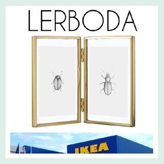イケア(IKEA)の新品未使用【IKEA】LERBODA 写真立て フレーム*おまけ付き*(フォトフレーム)