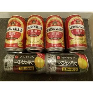 キリン(キリン)の麒麟キリンスプリングバレー豊潤496クラフトビール4本+のんあるレモンサワー2本(ビール)