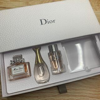 Dior - Diorノベルティ ミニチュアフレグランスギフト