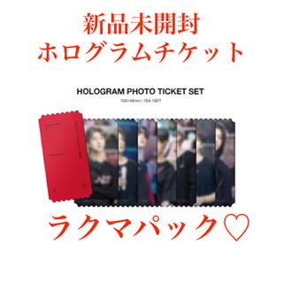 防弾少年団(BTS) - 新品未開封 BTS MOS ON:E DVD ホログラムチケット 7枚セット♡
