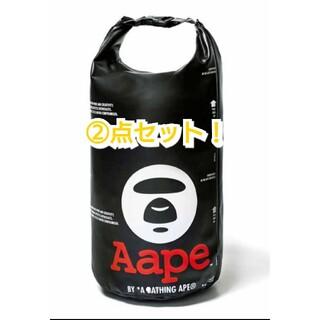 アベイシングエイプ(A BATHING APE)のsmart スマート 付録 A BATHING APE 防水収納バッグ②個(トートバッグ)