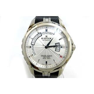 エドックス(EDOX)のエドックス GRAND OCEAN グランドオーシャン デイデイト 83006-(腕時計(アナログ))