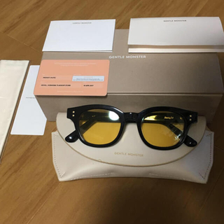 TOM FORD - GENTLE MONSTER insight-01 yellow