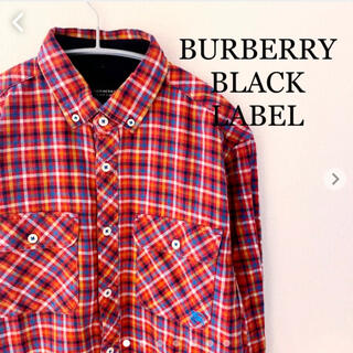 バーバリーブラックレーベル(BURBERRY BLACK LABEL)のバーバリーブラックレーベル チェックシャツ 長袖 BURBERRY 三陽商会 (シャツ)