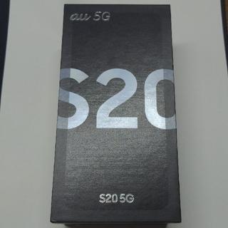 Galaxy - Galaxy S20 5G / SIMロック解除済 / au版 / ホワイト