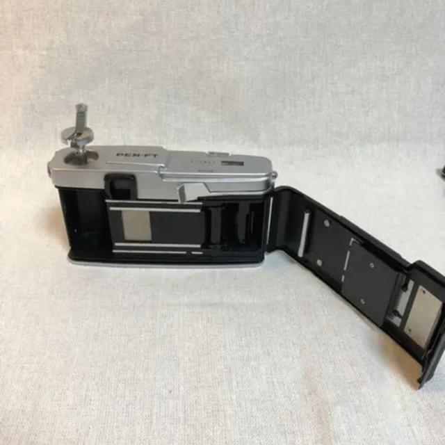 OLYMPUS(オリンパス)の【美品】OLYMPUS pen FT lens3本セット25.38.100mm スマホ/家電/カメラのカメラ(フィルムカメラ)の商品写真