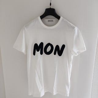 モンクレール(MONCLER)のモンクレール アップリ ケワッペン ロゴ Tシャツ(Tシャツ/カットソー(半袖/袖なし))