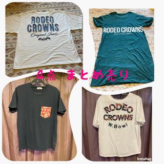 ロデオクラウンズワイドボウル(RODEO CROWNS WIDE BOWL)のロデオクラウンズ RCWB Tシャツ ワンピース 4点セット(Tシャツ(半袖/袖なし))