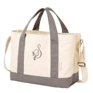 サマンサモスモス(SM2)のサマンサモスモス 35th Anniversary ロゴ刺繍コットントートバッグ(トートバッグ)