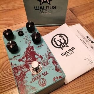 Walrus Audio DEEP SIX - コンプレッサー(エフェクター)