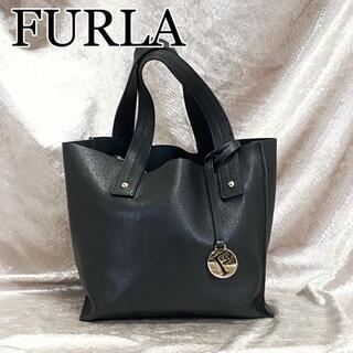 フルラ(Furla)の☆極美品 サリー☆FURLA フルラ ハンドバッグ サフィアーノレザー(ハンドバッグ)