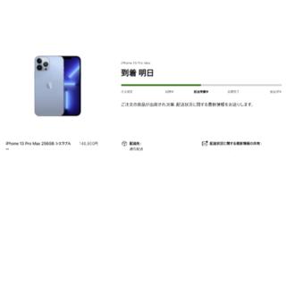 Apple - 9/24発送 iPhone13 Pro Max 256GB シエラブルー