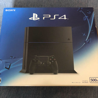 PlayStation®4 ジェット・ブラック 500GB CUH-1200AB