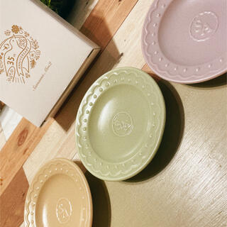 サマンサモスモス(SM2)のSM2 ノベルティ 豆皿(ノベルティグッズ)
