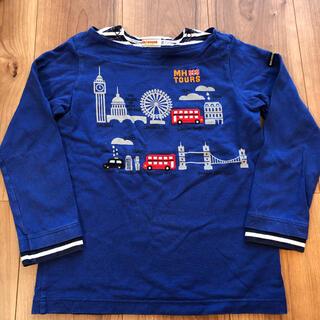 mikihouse - ミキハウス 長袖Tシャツ ロンT ロンドン ツアー 120 日本製