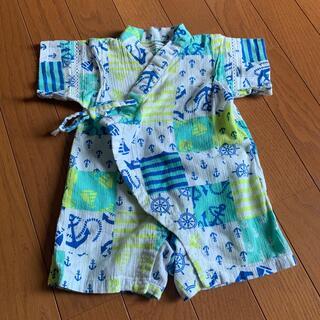 アンパサンド(ampersand)の70サイズ 浴衣 ロンパース 夏(甚平/浴衣)