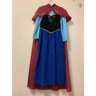 アナと雪の女王 アナ雪 コスプレ衣装 大人用のドレス