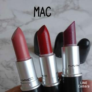 マック(MAC)のM•A•C♡リップスティック 3本セット(口紅)