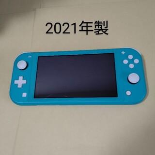 Nintendo Switch - Nintendo Switch Lite 本体のみ ターコイズ スイッチライト