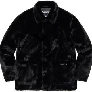 Supreme - Supreme 2-Tone Faux Fur Shop Coat XL 黒