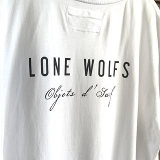 ロンハーマン(Ron Herman)のLONE WOLFS バックプリントTシャツ 🇺🇸USA製ホワイト サイズL(Tシャツ/カットソー(半袖/袖なし))