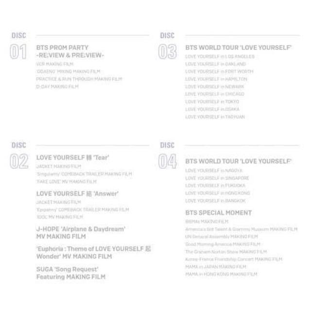 防弾少年団(BTS)(ボウダンショウネンダン)のBTS  2018メモリーズ  DVD日本語字幕入り年を重ねるごとに世界的な影 エンタメ/ホビーのDVD/ブルーレイ(ミュージック)の商品写真