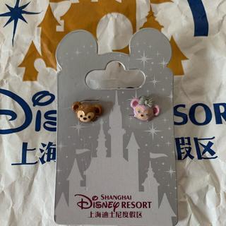 Disney - ダッフィー•シェリーメイ ピアス 上海ディズニー限定