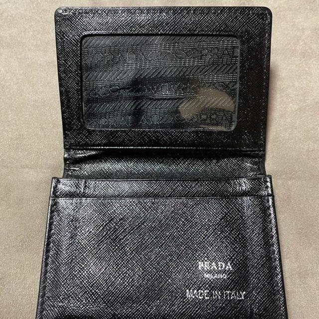 PRADA(プラダ)のPRADA(プラダ)カードケース レディースのファッション小物(名刺入れ/定期入れ)の商品写真