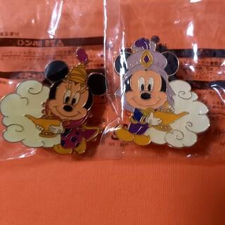 ディズニー(Disney)の東京ディズニーシー ピンバッチ Mickey Minnie(バッジ/ピンバッジ)