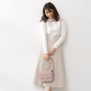 PROPORTION BODY DRESSING - 【田中みな実さん着用】バックレースアップジャンパースカート