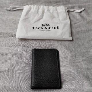 COACH - COACH コーチ カードケース ブラック F66574 QB/BK