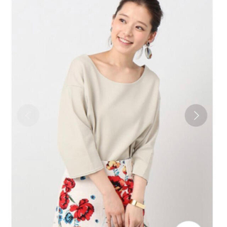 イエナ(IENA)のIENA コットンリングBIG Tシャツ(Tシャツ(長袖/七分))