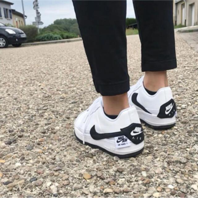 NIKE(ナイキ)の【未使用】NIKE AF1 JESTER XX  white/black 24㎝ レディースの靴/シューズ(スニーカー)の商品写真